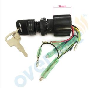 87-17009A5 Mercury Outboard Motors Boat Ignition Key Switch 3 Position  Magneto off-Run-Start