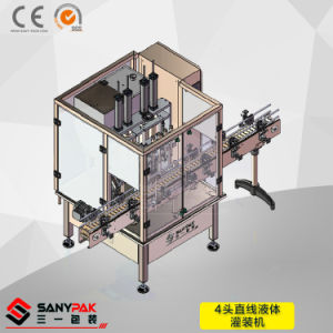 Water/Milk/Juice/Vinegar/Beverage Multi Head Linear Liquid Filling Machine