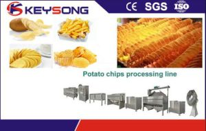 Fried Potato Chips Making Machine, Potato Chips Processing Line pictures & photos