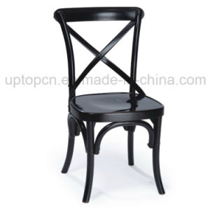 Classical Design Wooden Cross Back Chair Furniture with Various Color (SP-EC148) pictures & photos