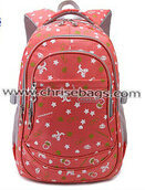Floral Canvas Backpack for Girls Funtional Big