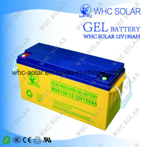 Rechargeable 12V 150ah Gel Solar System Battery pictures & photos