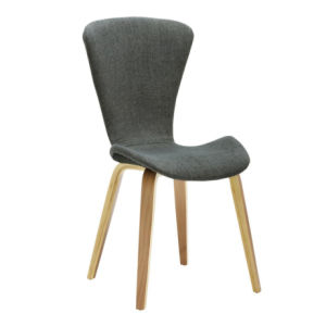 Fabric Bent Plywood Dining Chair W17939