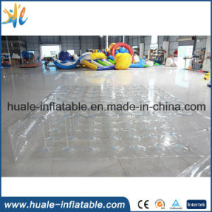 Custom New Design Inflatable Transparent Air Mattress for Sale
