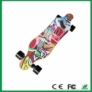 OEM Remote Control Electric Skateboard with 4 Wheels