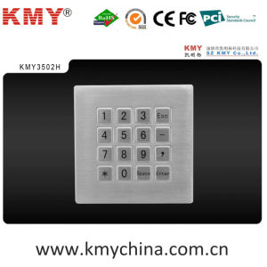 Metal Numeric Keypad for Access Control (KMY3502H) pictures & photos
