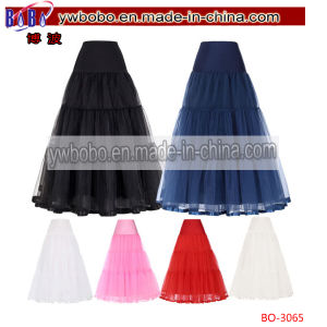 Tulle Petticoat Crinoline Costume Underskirt Bridal Wedding Dress (BO-3065) pictures & photos