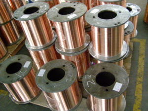 ECCA Enamelled Copper Round Wire for Motor Winding Tools pictures & photos