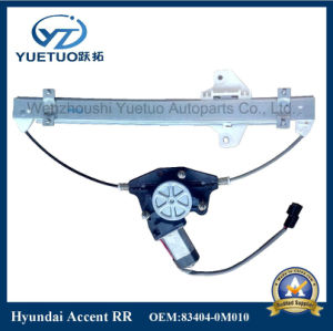 Accent Power Window Regulator for Hyundai OEM 83403-0m010, 83404-0m010 pictures & photos