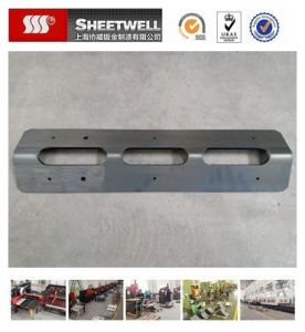 Laser Cutting and Bending of Thick Steel Metal Sheet Part