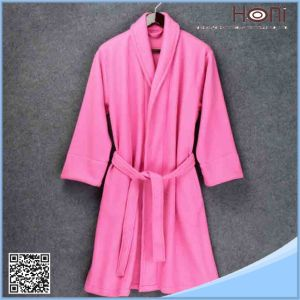 Ladies 100% Cotton China Supplier Bathrobe