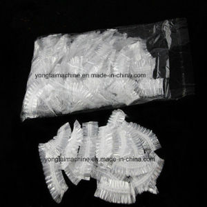 Disposable Salon Plastic and Nonwoven Ear Cover Making Machine Equipment pictures & photos