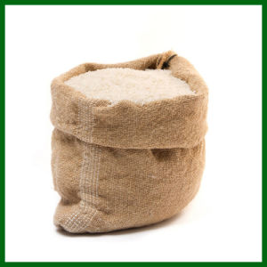 Eco-Friendly Durable Jute Drawstring Bag for Rice
