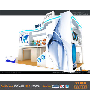Double Deck Construction for Modern Exhibition Booth