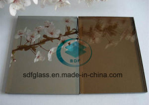 Bonze Colour Reflctive Float Glass with Ce. ISO (4mm to 10mm)