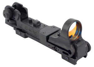 C-More Style Red DOT Sight Reflex with Ar Rear Iron Sight