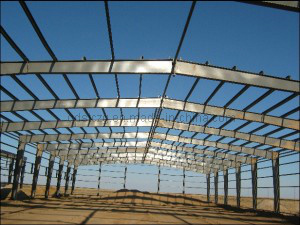 Fast Construction Steel Building/Steel Structure with SGS / Mild Steel (STC-02)
