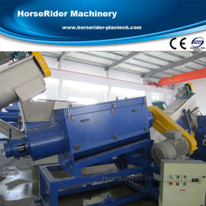 500kg/H PE Agricultural Film Recycling Washing Line pictures & photos