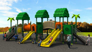 Wood Series Outdoor Playground HD15A-026A pictures & photos