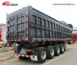 40cbm-60cbm Utility Semi End Dump Trailers pictures & photos