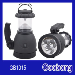 8LED 3D Dry Battery Camping Lantern Spotlight