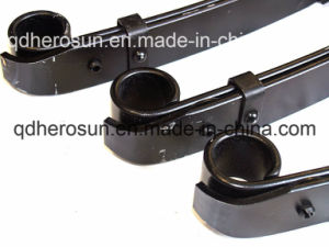 Trailer Leaf Springs with Round Plastic Pad pictures & photos