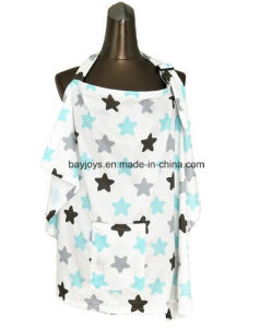 100% Cotton Nursing Cover for Baby Feeding