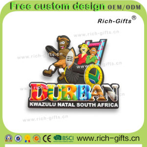 Eco-Friendly Fridge Magnets for South Africa PVC Rubber Gifts (RC-SA)