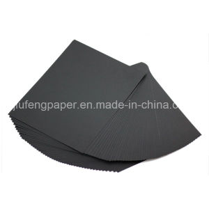 Good Quality 100% Wood Pulp 180g Black Paper pictures & photos