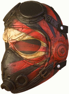 "Wire Mesh ""Kamikaze"" Tactical Mask Cosplay Mask"
