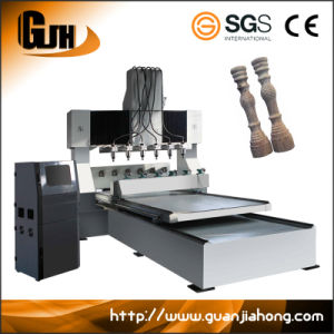 8025-6 Multi-Spindle Rotary 4 Axis Engraving Machine CNC Router pictures & photos