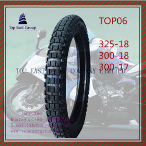 325-18 300-18 300-17super Quality Motorcycle Tyre 6pr Nylon pictures & photos
