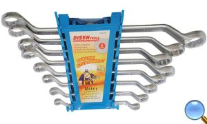 8 PCS Double Offset Ring Wrench Set