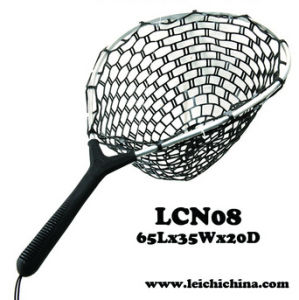 Landing Net Aluminum Frame with Rubber Net pictures & photos