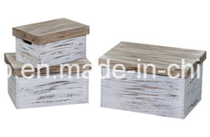 High Quality Customized Vintage Cargo Wooden Crate pictures & photos