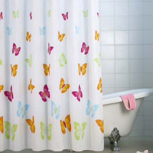 PEVA Shower Curtain/Custom Printed Shower Curtain for Bathroom pictures & photos