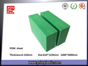 China Green POM Plastic Sheet pictures & photos