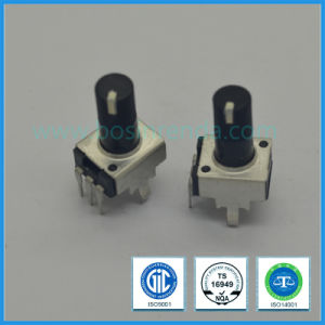9mm Rotary Potentiometer Plastic Shaft with White Line pictures & photos