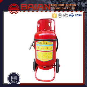 Trolley Wheeled Type Dry Powder Fire Extinguisher pictures & photos