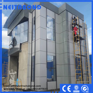 4*0.50mm PVDF Fire Resistance B1 Grade Aluminium Composite Panel for Outside Building pictures & photos