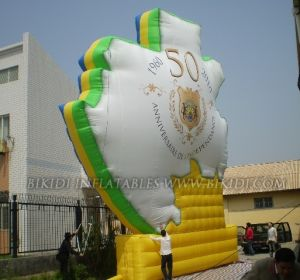 Inflatable Map of Country Balloon Gabon for Anniversary Celebration (K3009) pictures & photos