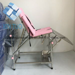 Factory Direct Patient Examination Surgical Couch / Caster Wheel Hospital Bed pictures & photos