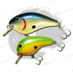 Fishing Lure / Wobbler--Balsa Wood Crank Bait (HYT-002) pictures & photos