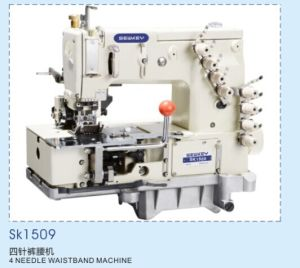 Sk1509 4 Needle Waist Band Machine