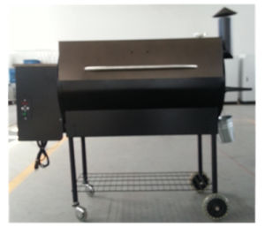 Commercial Electric Removable Wood Pellet Grill BBQ Barbecue