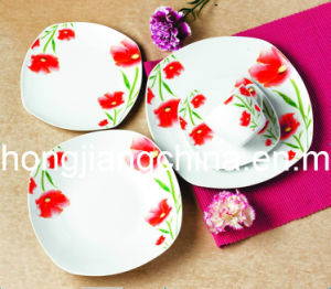 Flower Decor 20PCS Dinner Set pictures & photos