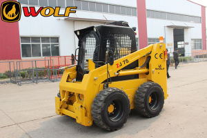 1050kg Skid Steer Loader with High Flow Attachments pictures & photos