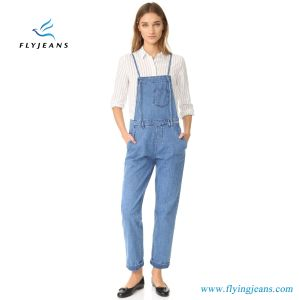 96c97db892ff China Lightweight Denim Slim Fit Jeans Women Overalls - China Girls ...