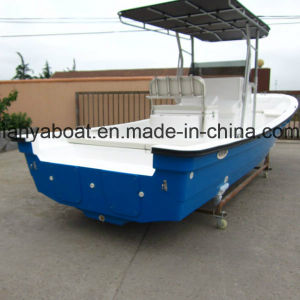 Liya 7.6m Panga Boat Fiberglass Fishing Boat with Motor for Sale pictures & photos