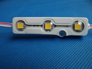 High Luminance New 5054 Waterproof Injection LED Module with Lens pictures & photos